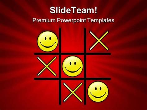 tic tac toe powerpoint template tic tac toe winning game powerpoint templates and