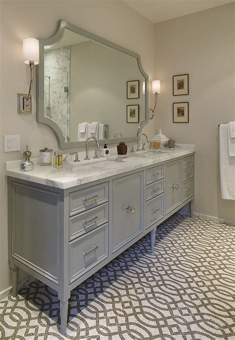 grey bathroom mirror 338 best baths images on pinterest bathroom bathrooms