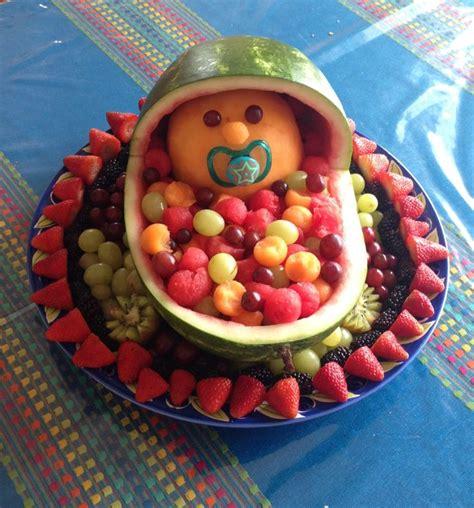 fruit platter for baby shower party ideas pinterest