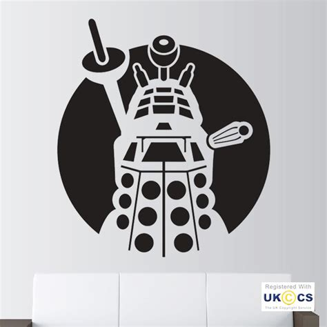 dr who wall stickers doctor who dalek wall stickers decals vinyl decor room
