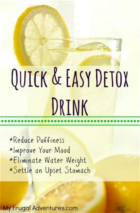 Detox With Lemon Juice And Water by Lemon Detox Drink Water With Lemon Drinks And