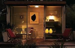 multifunction design  backyard office meditation room