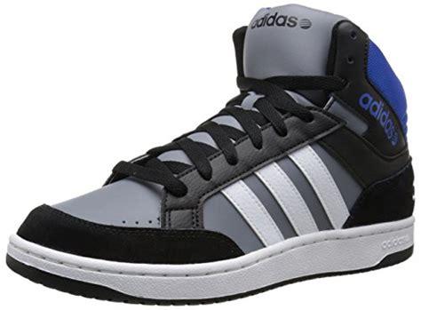 Adidas Neo V Leather Grey Black adidas neo s vladidas neo hoops mid lifestyle