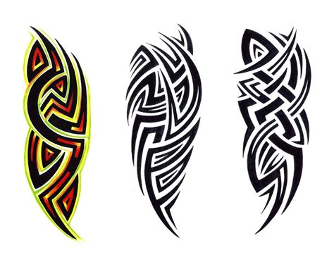 tribal with color tattoo cool tribal designs project 4 gallery