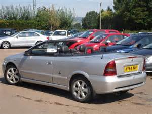 Vauxhall Astra Coupe Convertible Used 2004 Vauxhall Astra 1 8 Coupe Convertible 16v 2d For