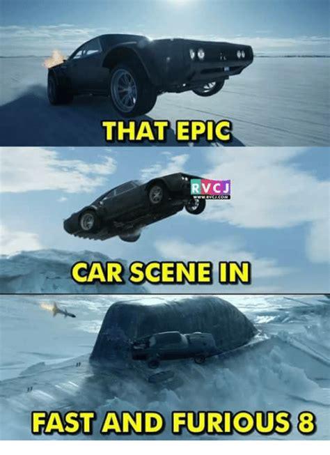fast and furious 8 meme that epic rvcj car scene in fast and furious 8 cars meme