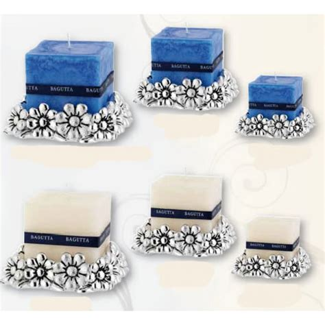 bomboniere con candele bomboniere candele base portacandele margherite in resina