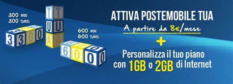 tariffa poste mobile tariffe postemobile con chiamate gratis verso tutti