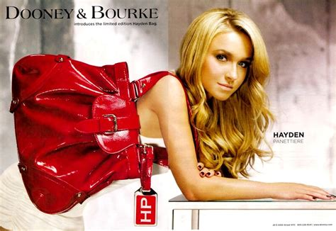 Handbag Of The Week The Hayden by Dooney Bourke Hayden Panettiere Designer Handbag The Ad