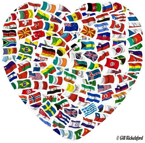 flags of the world banner flags of the world heart flags pinterest flags of