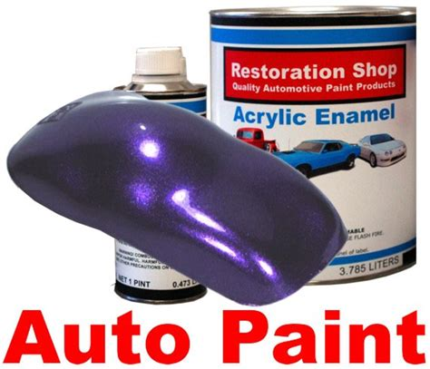 firemist purple quality acrylic enamel car auto paint ebay