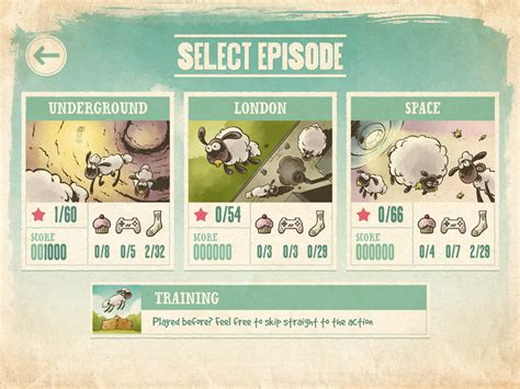 episode selection screen image home sheep home 2 db