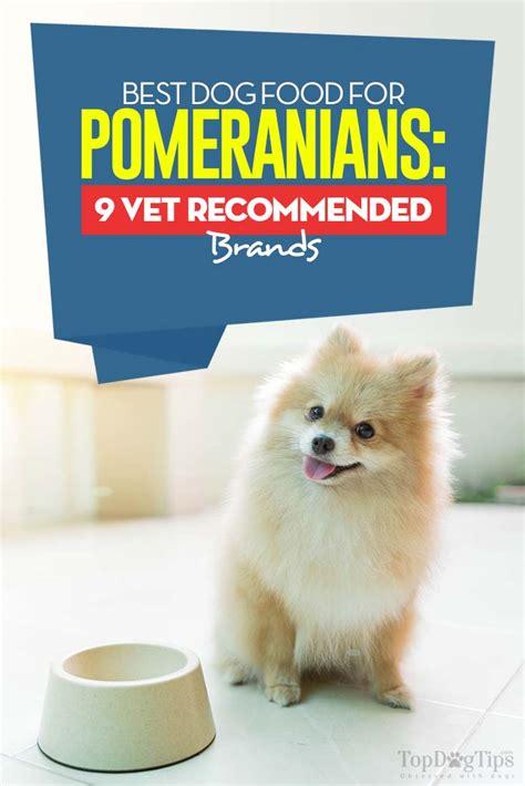pomeranian food brand best food for pomeranians 9 vet recommended brands