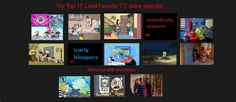 my top 10 least favorate tv show episodes by codygwen1 on deviantart