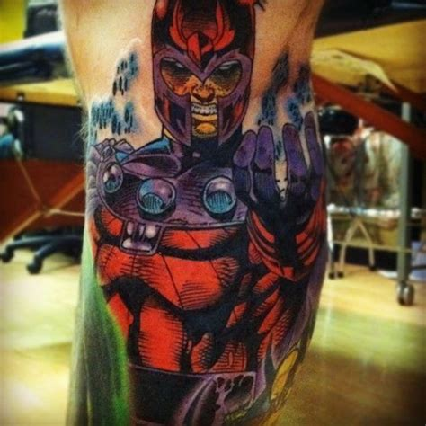 magneto tattoo 35 amazing comic book tattoos
