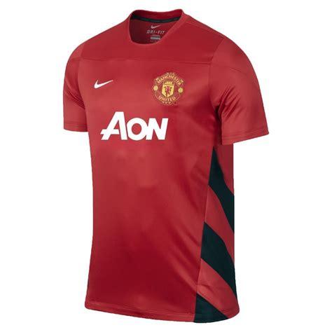 T Shirt Manchester United Nike Black 01 nike manchester united squad mens t shirt black sportitude