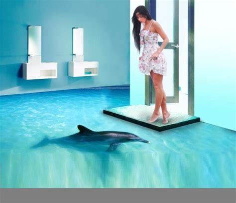 3d art bathroom floor 3d flooring ideas and 3d bathroom floor murals designs