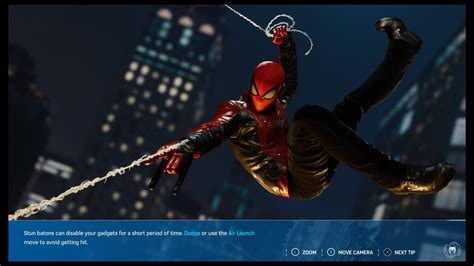 loading screen poses spidermanps