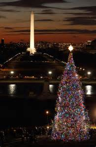 lights in washington dc gli alberi di natale pi 217 belli mondo washington dc