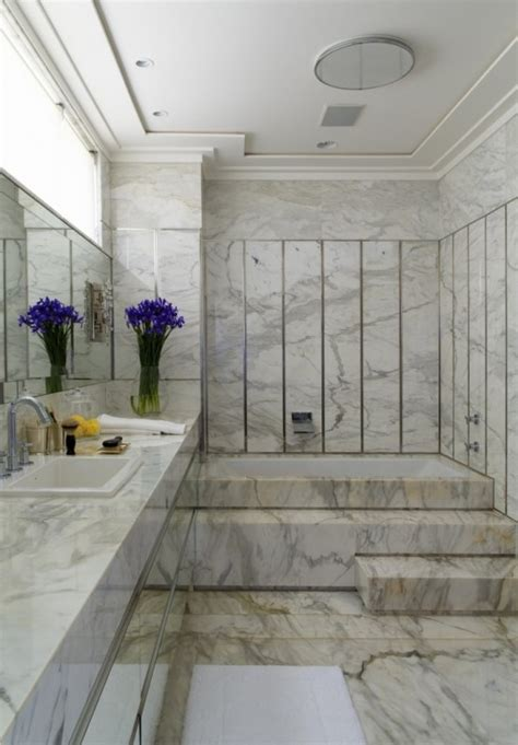 48 Luxurious Marble Bathroom Designs Digsdigs Marble Bathrooms Ideas