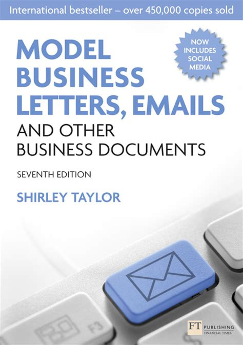 Email And Business Letter Writing Skills pearson education model business letters emails and