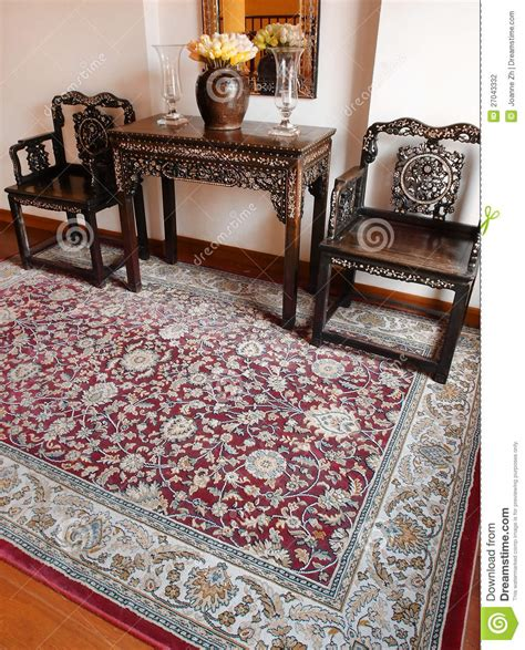 oriental rugs interiors august 2009 luxury oriental carpet ethnic decor stock photography