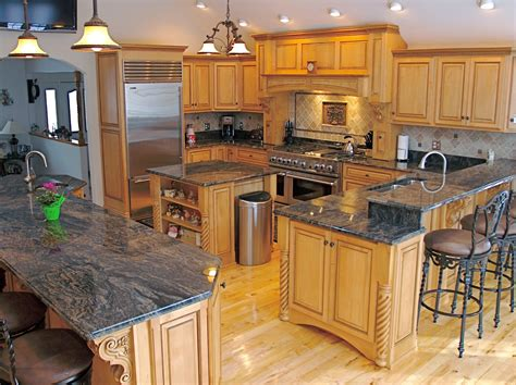 kitchen cabinets with granite countertops granite countertops for your modern kitchen modern magazin