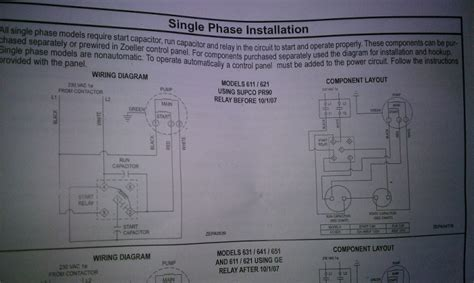 single phase submersible starter wiring diagram pdf