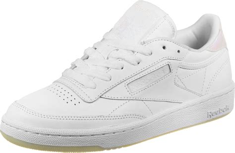 reebok club c 85 leather w shoes white