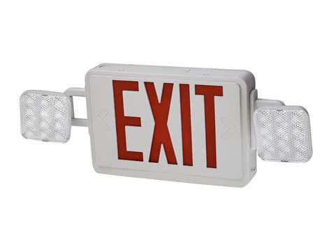 exit sign light combo emergency light exit sign combo