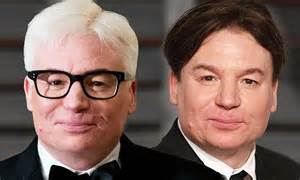 mike myers grey mike myers debuts white hair at state dinner in honour of