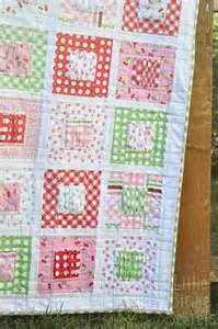 gather baby quilt tutorial fabrics
