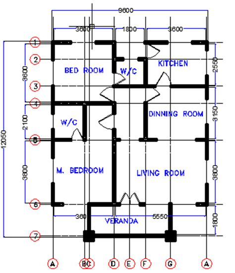 80 Square Meter House Plan how many bedroooms can fit in a half plot of land lagos