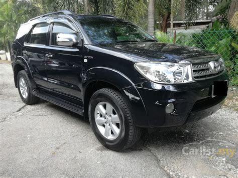 Fortuner Fr8081 Black Original toyota fortuner 2009 v 2 7 in selangor automatic suv black for rm 67 900 3615460 carlist my