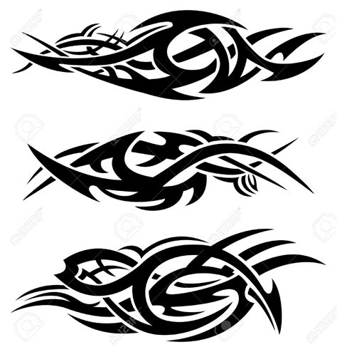 tribal fire tattoos collection of 25 tribal flames and snake stencil