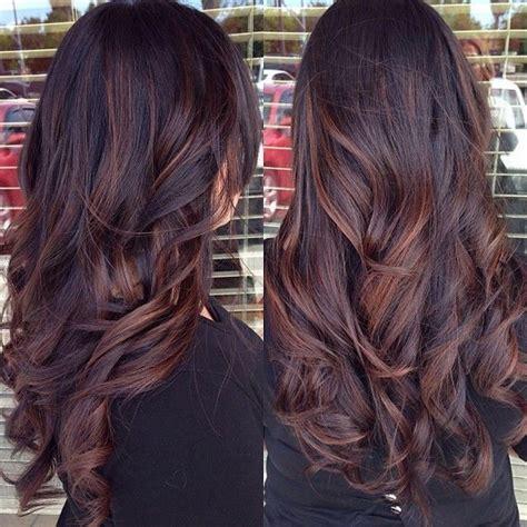 balayage highlights on dark brown hair 2015 balayage hairstyles trends at blog vpfashion com
