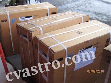 Daftar Ac Mcquay pengiriman 8 unit ac daikin 2 pk split wall mounted ke lombok