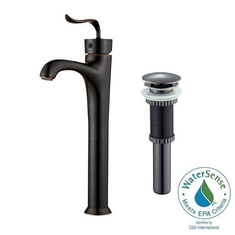 Pop Up Faucet by Kraus Coda Bathroom Faucet Pop Up Drain
