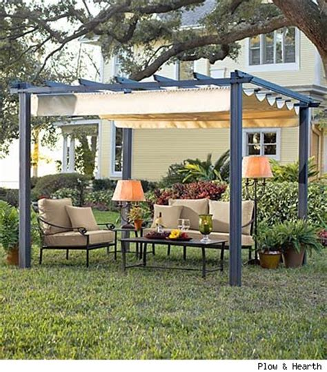 pergola with retractable roof 301 moved permanently