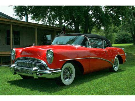 classic buick cars 1954 buick skylark for sale classiccars cc 987439