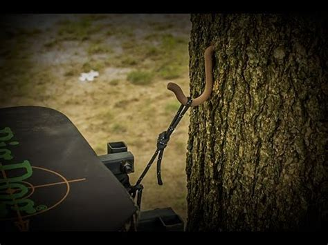 tree hacks life hacks for hunters hang a tree stand the easy way