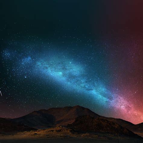 night sky dark color star shining nature wallpaper