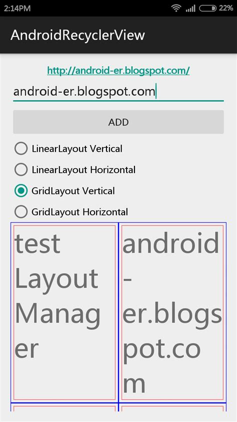 Linearlayoutmanager Wrap Content | android er linearlayoutmanager and gridlayoutmanager for