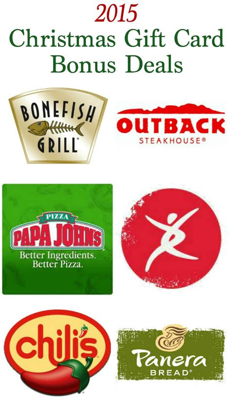 Gift Card Offers - 28 best deals on gift cards for christmas holiday gift card bonus offer round up