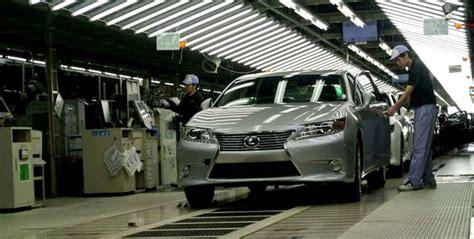lexus manufacturing plants lexus es manufacturing