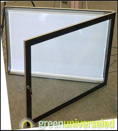 double side outdoor using led picture frame led light sign led sign display purchasing souring