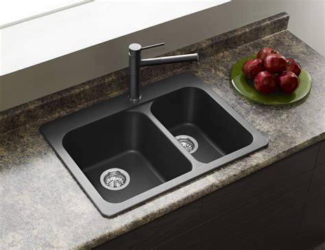 two sinks in kitchen design build ca blanco 401126 vision 1 1 2 1 hole double bowl