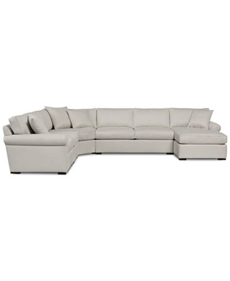 macys chaise astra 6 pc sectional with chaise only at macy s