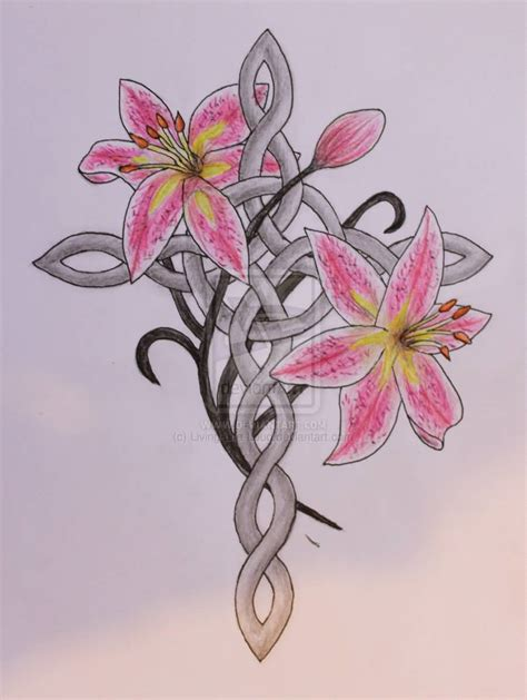 pink flower tattoo 40 fantastic designs for truetattoos