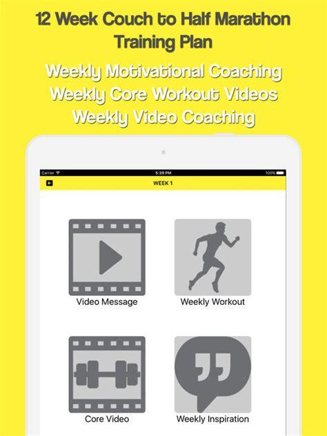 couch to half marathon app for iphone app shopper couch to half marathon healthcare fitness